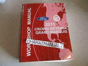 2011 FORD Crown Victoria Mercury Grand Marquis Service Manual OEM