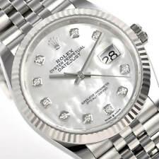 Rolex Datejust 126234 Steel 36mm White Mother of Pearl Jubilee Bracelet Auto