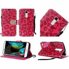 Leather Patterned Mobile Phone Wallet Cases