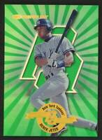 1x - 1997 Donruss Power Alley #/4000 Derek Jeter New York Yankees #24