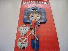 "Betty Boop ""Betty Boop & Flash Bulbs"" Key Kwikset KW1 House Key Blank / New"