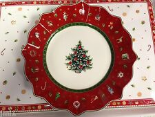 Villeroy & Boch TOY'S DELIGHT Red Salad Plate