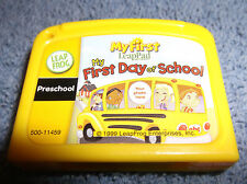 LEAP FROG MY FIRST LEAPPAD MY FIRST DAY OF SCHOOL PRESCHOOL CARTRIDGE 1999