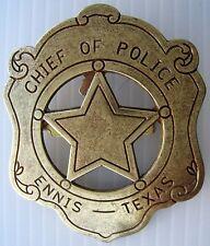 SHERIFF STERN   ENNIS TEXAS   USA   WILD WEST   COUNTRY - Ref.10