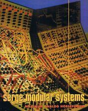 1994 SERGE Modular, ERASURE VINCE CLARK, Keyboard Studio Soundproofing, Magazine