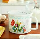The Pioneer Woman Blooming Bouquet 6-Cup Enamel on Steel Measuring Cup with Lid