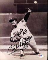 Tug Mcgraw Psa Dna Coa Hand Signed 8x10 Mets Photo Autograph