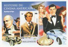 L'ISPETTORE CALLAGHAN icona del cinema Storia del cinema americano 1999 Gomma integra, non linguellato FRANCOBOLLO SHEETLET