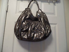 BOTKIER GORGEOUS METALLIC SUPER SOFT LARGE HANDBAG EUC/SALE