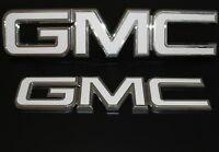 2017 GMC Sierra red letter emblem replacement kit - White carbon fiber