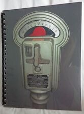 Vintage Duncan-Miller Model 50 Parking Meter Care and Maintenance Manual  WOW !