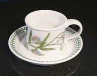 Beautiful Portmeirion Botanic Garden Forget Me Not Cup And Saucer
