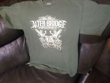 Alterbridge Army Green Shirt Eagle Crest Creed Tremonti Medium