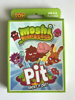 Moshi Monsters - Pit Shout it Out - Top Cards - 3 to 8 players - Card Game