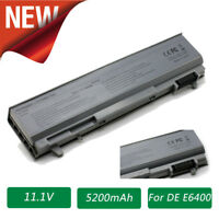 6 Cell Laptop Battery For Dell Latitude E6400 E6410 E6500 E6510 PT434 E6510 ATG