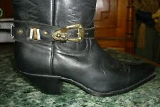 Sangles cuir boucles pour bottes go west harley country western santiags vintage