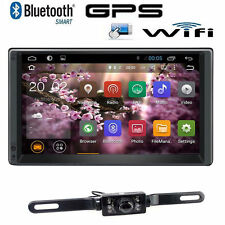 HD 1024*600 GPS Car Stereo Autoradio Quad-Core Android 5.1 Double 2Din 3G+Camera