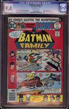 Batman Family # 6 CGC 9.4 Off-White (DC, 1976) 1st Joker's Daughter