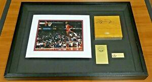 Michael Jordan Signed Original Game Floor From Chicago Bulls Stadium Upper Deck