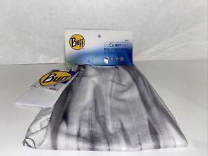 Buff CoolNet UV+ Multifunctional Headband (Half Buff Gaiter) Grey - New