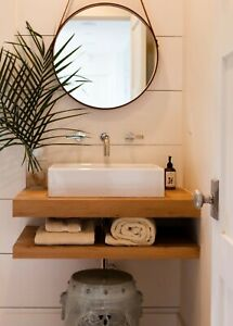 """30"""" Floating Vanity Cabinetry-RAW Unfinished"""