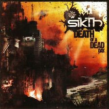 SikTh Death Of A Dead Day Ltd Ed Discontinued Rare Sticker +Free Metal Stickers!