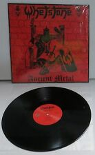 Whetstone Ancient Metal Black Vinyl LP Record new