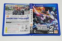 Gundam Breaker 2 PSV BANDAI NAMCO Sony Playstation Vita Japan USED