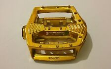 Vintage NOS 1983 Gold SHIMANO PD-MX15 Old School BMX Racing R Orphan Pedal Body