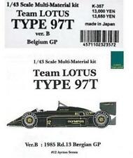 MFH Model Factory Hiro 1/43 LOTUS TYPE 97T Belgium GP Multi Material Kit