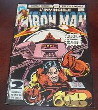 Editions Heritage Invincible Iron Man # 123/124 1983 French Edition Black White