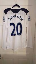 Tottenham Hotspur White Spurs 2010/2011 Dawson Player Issue Home Shirt Jersey