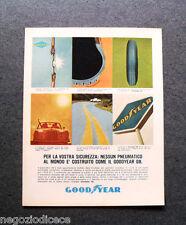 P093 - Advertising Pubblicità -1964- GOODYEAR G8 , PER LA VOSTRA SICUREZZA