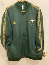 Adidas Portland Timbers Anthem Jacket Mens Top Green 2xl