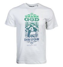 LRG LIFTED RESEARCH GROUP THANK GOD FOR DRUGS MEN T SHIRT
