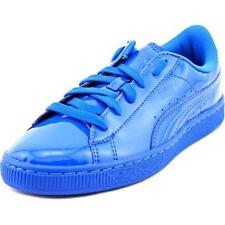 Scarpe blu in pelle sintetica per bambini dai 2 ai 16 anni