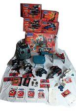 Captain Power Power Huge Lot Base, 4 Vehicles, Energizer, 2vhs, Boxes+ 1987
