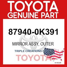 Genuine Toyota 87940 0k391 Mirror Assy Outer Rear View Lh 879400k391 Oem