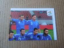 Vignette panini - Euro 2012 - Pologne / Ukraine - Grèce - N°081 - Equipe