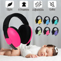 Baby Infant Earmuffs Ear muffs Sleeping Hearing Protection Noise Reducing Light