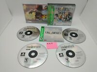 Final Fantasy IX 9 (Sony PlayStation 1, PS1, PSX) Complete w/ Manual, Nice Discs