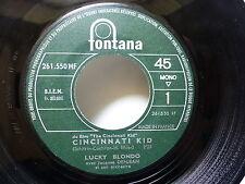 LUCKY BLONDO BO Film Cincinnati kid / Une fille tranquille 261550 MF JUKE BOX