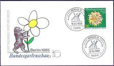 Berlin 1985: Gartenschau! FDC der Nr. 734 mit sauberen Sonderstempeln! 1907