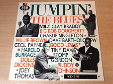 EX/EX !! Jumpin' The Blues/1984 Ace LP/Buddy Johnson/Clay Braddy/Cecil Payne