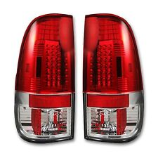 RECON 264176RD Ford SuperDuty F-250/350/450/550 08-16 Red-Red Tail Lights LED