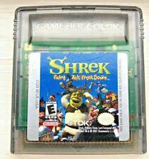 Shrek Fairy Tale Freak Down game cartridge Nintendo Game Boy Color 2001