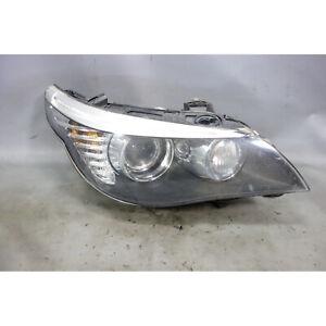 08-10 BMW E60 5-Series Late Model Right Front Headlight Lamp Xenon Adaptive OEM