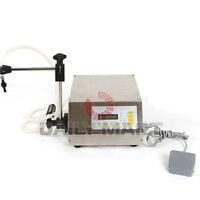 GFK-160 CNC Digital Control Pump Drink Water Liquid Filling Machine 5-3500ml