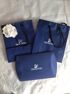 swarovski X2 Gift Bag & X1 Flat Pack Gift Box