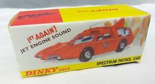 Dinky capatain Scarlet SPC 103 reproduction Display Box Seulement
